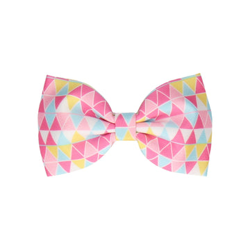 Bunting in Pink (Child's Bow Tie)