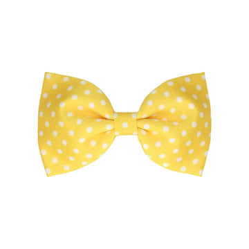 Dotty in Yellow (Child's Bow Tie)