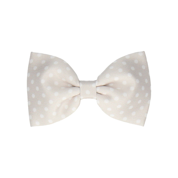 Dotty in Platinum (Child's Bow Tie)