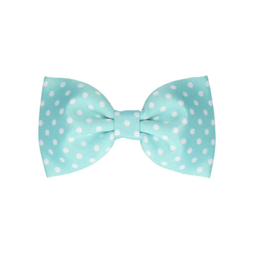 Dotty in Aqua (Child's Bow Tie)