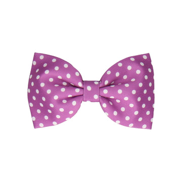 Dotty in Grape (Child's Bow Tie)