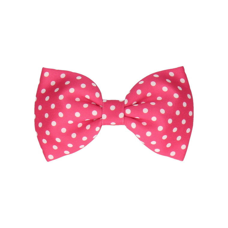 Dotty in Raspberry (Child's Bow Tie)