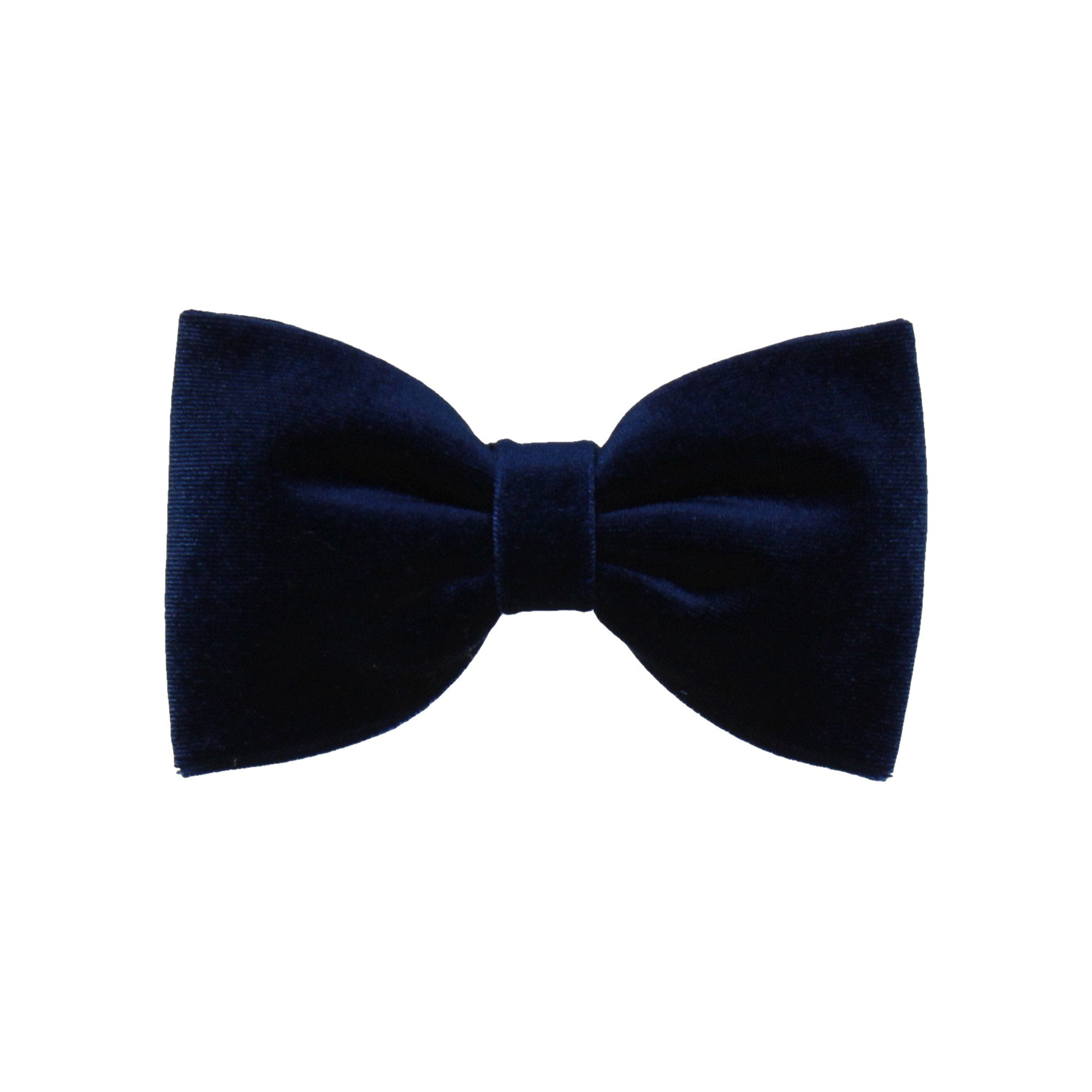 Velvet in Navy (Child's Bow Tie)