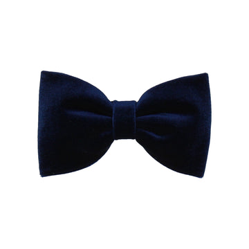 Navy Velvet (Child's Bow Tie)