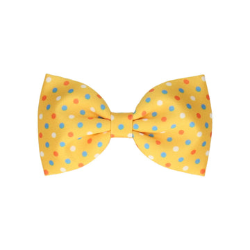 Carnival in Yellow (Child's Bow Tie)
