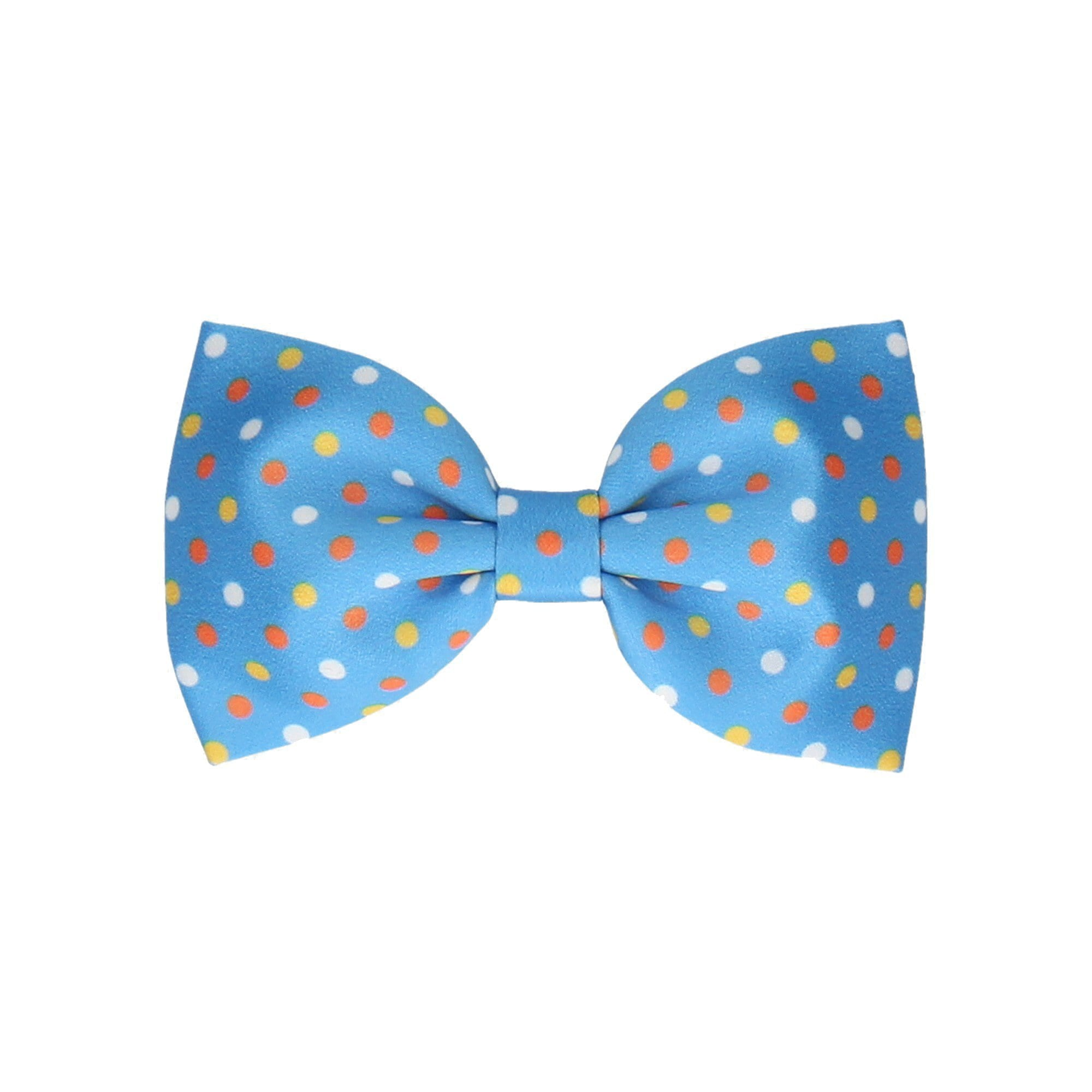 Carnival in Sky Blue (Child's Bow Tie)