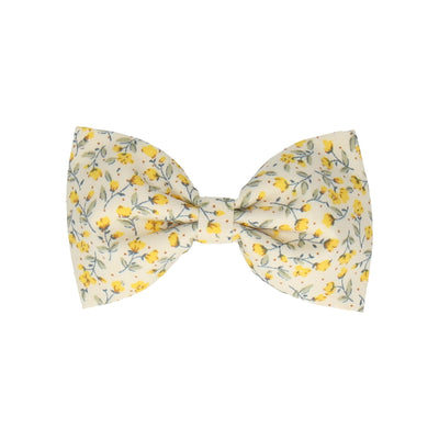 Vintage White & Yellow Ditsy Floral (Child's Bow Tie)