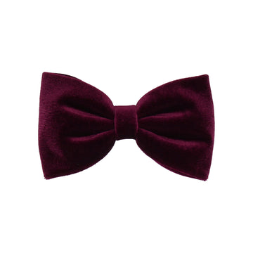 Wine Velvet (Child's Bow Tie)