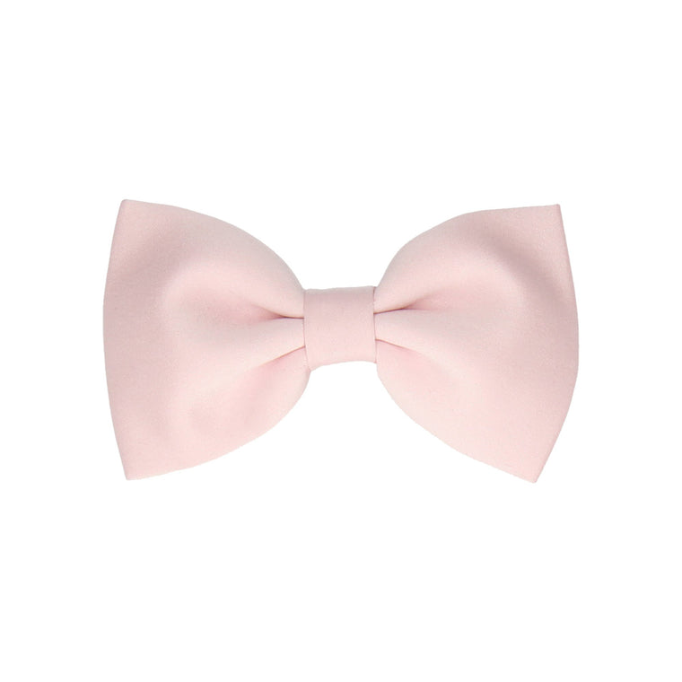 Solid Plain Pale Pink Satin (Child's Bow Tie)