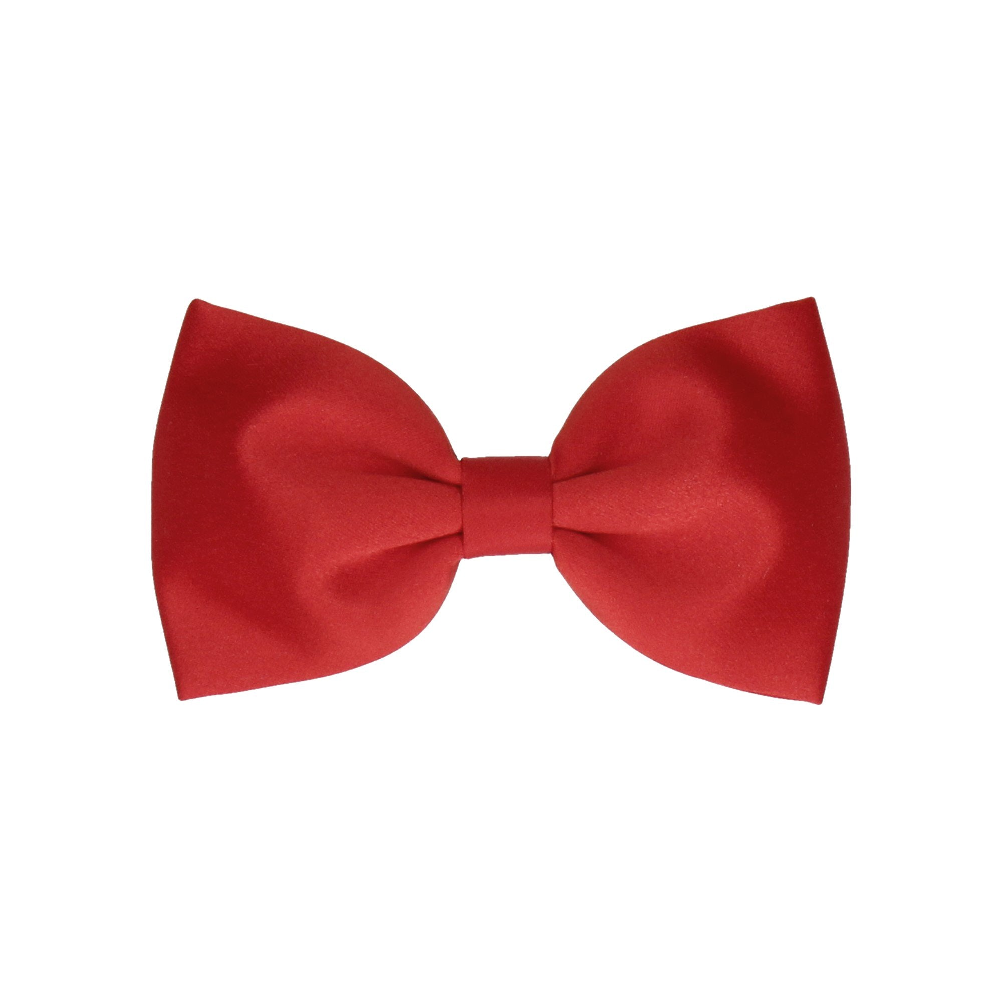 d6bebcc01403 Satin in Vermillion Red (Child's Bow Tie) – Mrs Bow Tie