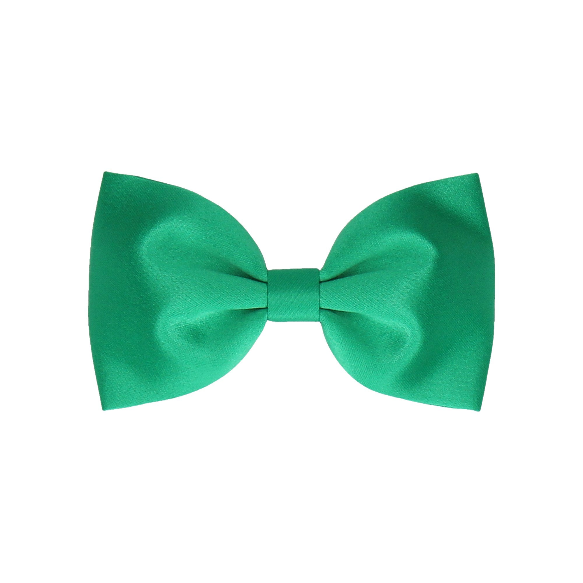 Satin in Emerald Green (Child's Bow Tie)