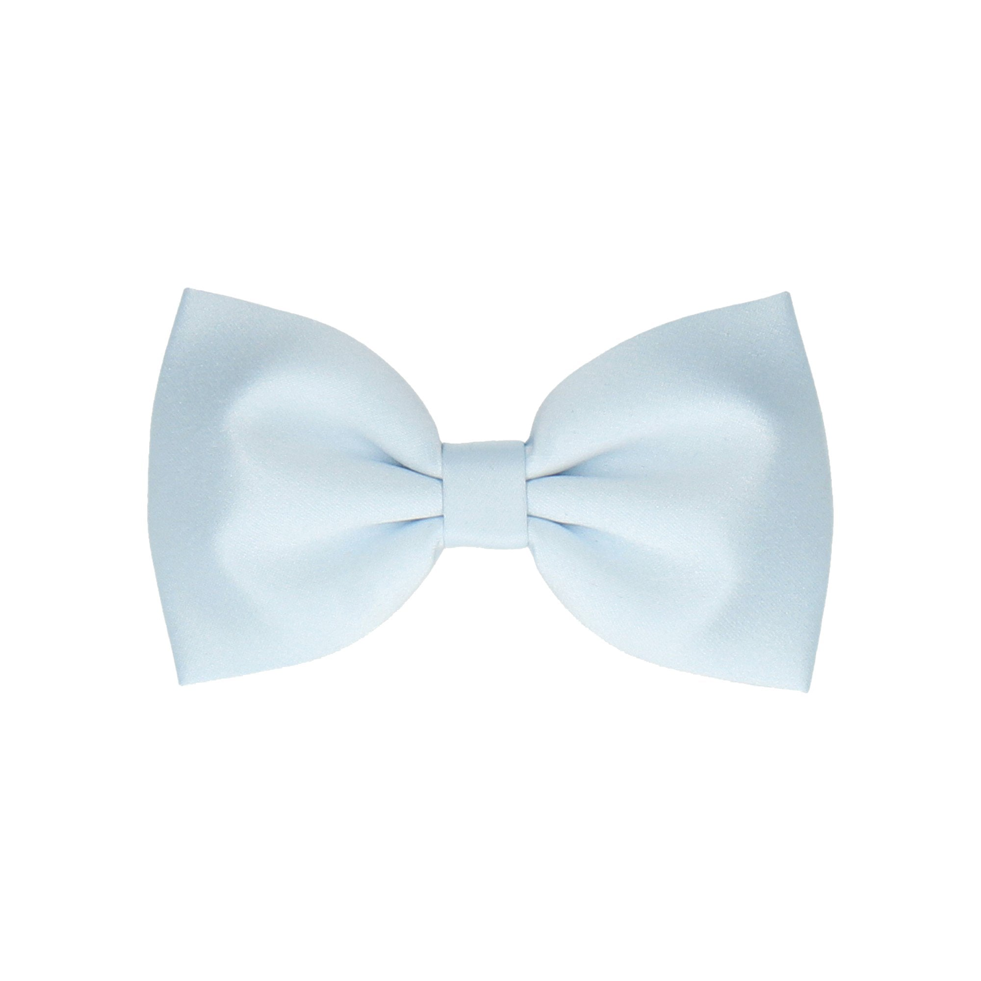 Satin in Ice Blue (Child's Bow Tie)