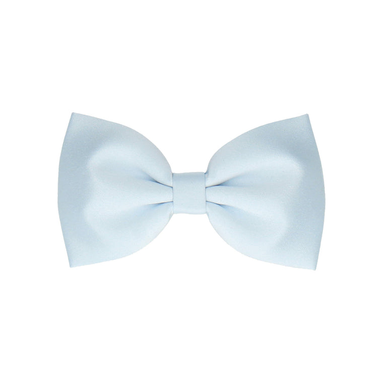 Satin Plain Solid Ice Blue (Child's Bow Tie)