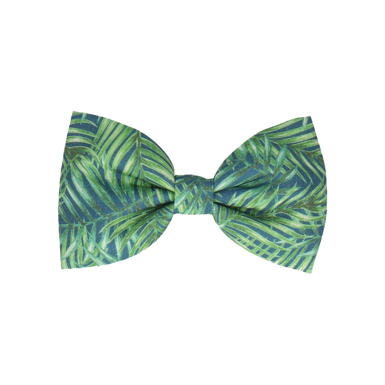 Navy Blue Rainforest (Child's Bow Tie)