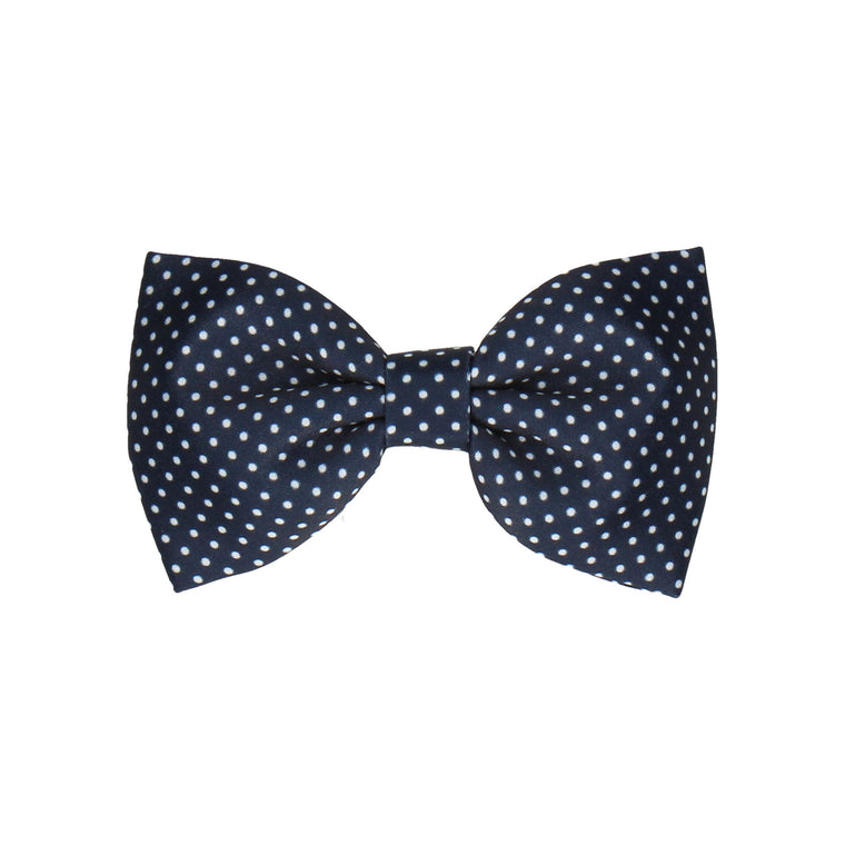 Pin Dots in Navy (Child's Bow Tie)