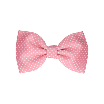 Pin Dots in Blush (Child's Bow Tie)