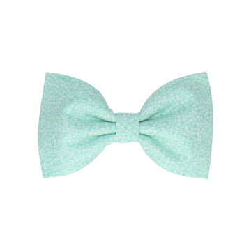 Seafoam Green Tiny Petal Cotton (Child's Bow Tie)