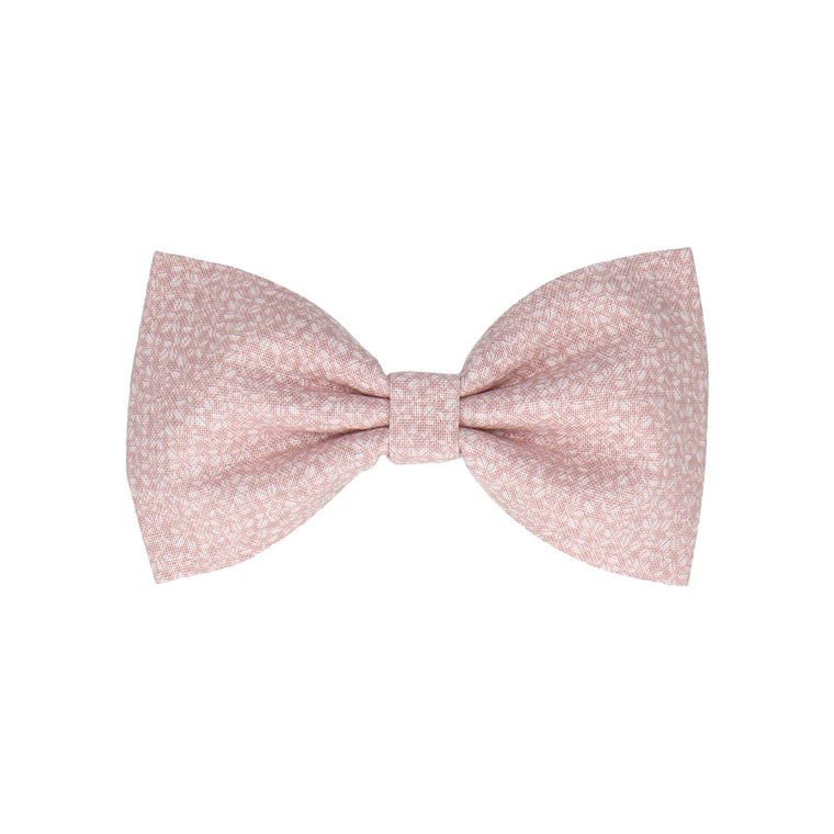 Soft Pink Tiny Petal Cotton (Child's Bow Tie)