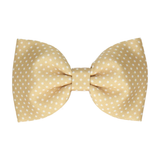 Pure Gold Pin Dots (Child's Bow Tie)