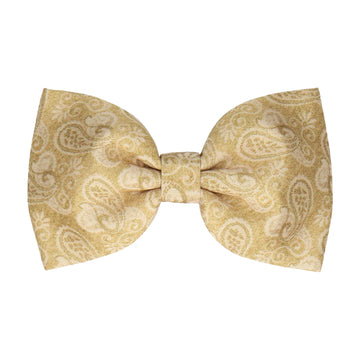 Gold Vintage Paisley (Child's Bow Tie)