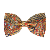 Red & Gold Paisley Liberty Cotton (Child's Bow Tie)