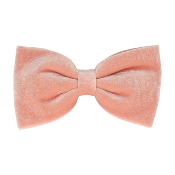 Peach Velvet (Child's Bow Tie)