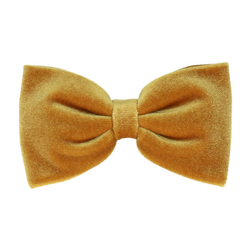 Saffron Gold Velvet (Child's Bow Tie)