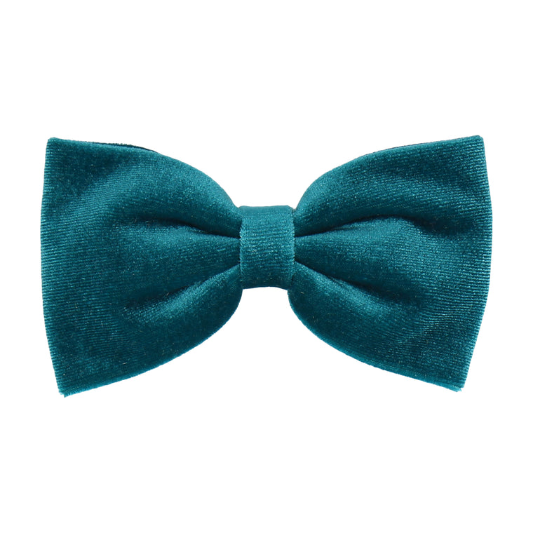 Teal Velvet (Child's Bow Tie)