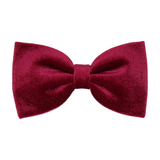 Mulberry Red Velvet (Child's Bow Tie)
