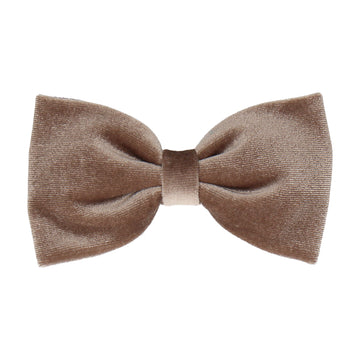 Truffle Velvet (Child's Bow Tie)