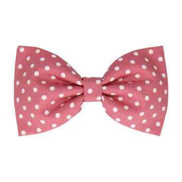 Blush Pink Polka Dots (Child's Bow Tie)