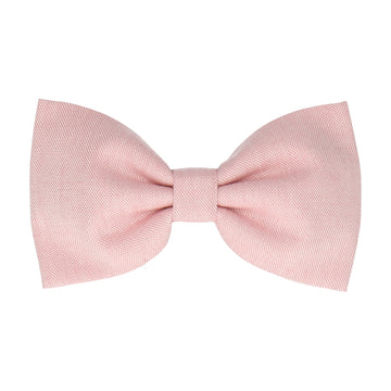 Cotton in Pink Chambray (Child's Bow Tie)