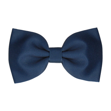 Plain Solid Prussian Blue (Child's Bow Tie)