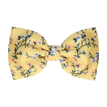 Yellow Blossom Floral (Child's Bow Tie)