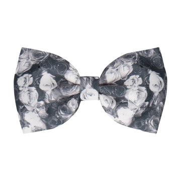 Monochrome Photographic Roses (Child's Bow Tie)