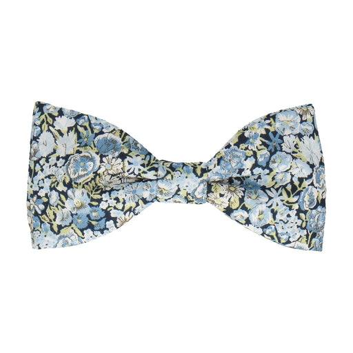 Chive in Blue Bow Tie -Standard-Pre-Tie- - bowties by Mrs Bow Tie