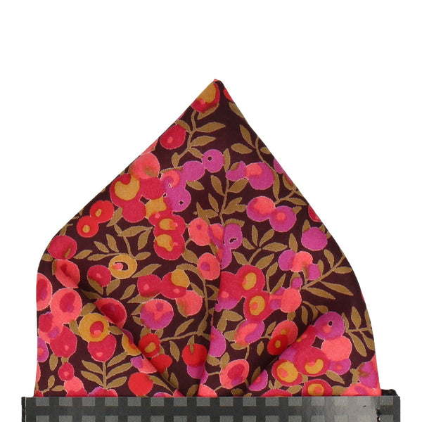 Wiltshire in Hot Pink Pocket Square