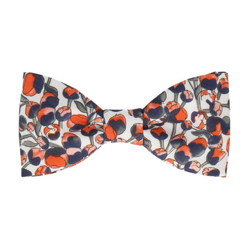 Orange Tulip Elizas Liberty Cotton Bow Tie