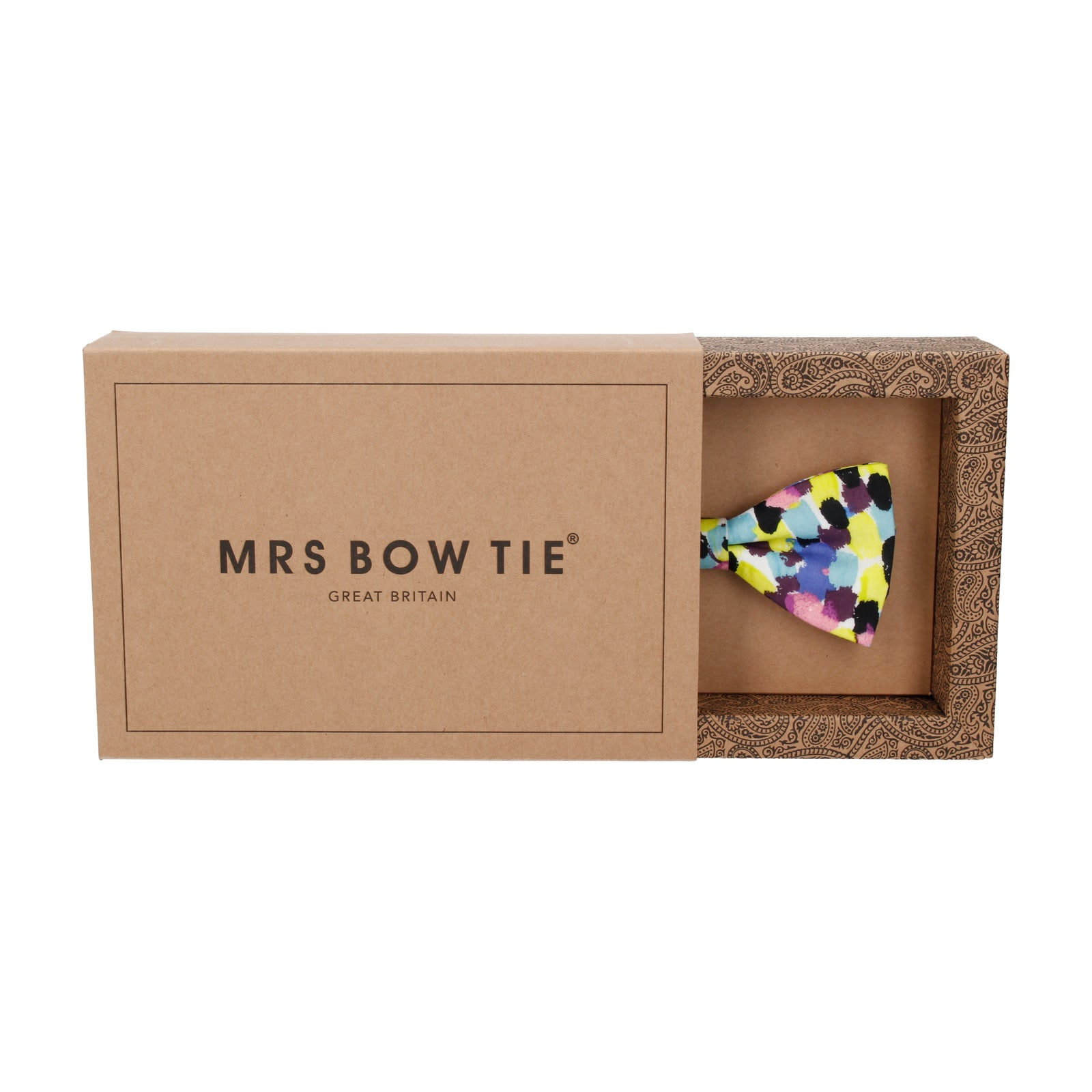 Lime Morning Dew Liberty Cotton Bow Tie
