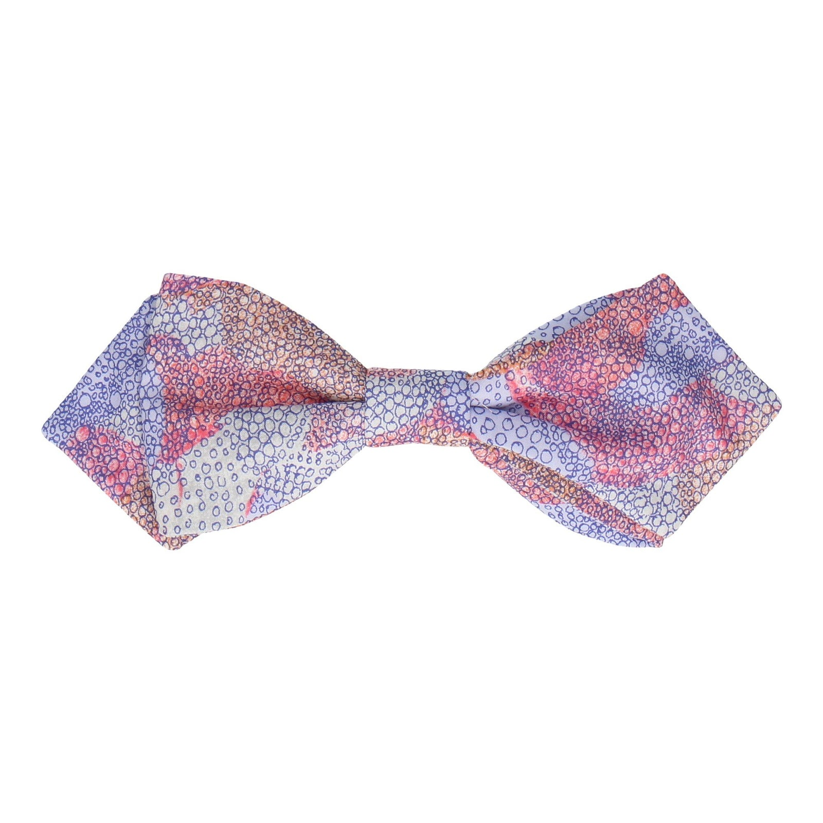 Pink Dots Pattern Luna Liberty Cotton Bow Tie