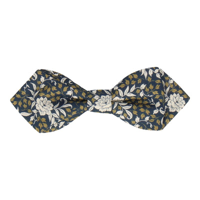 Franklyn in Navy Blue Bow Tie