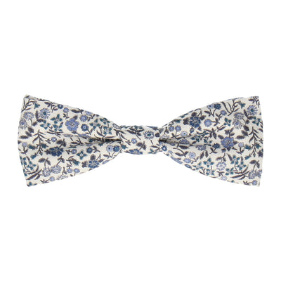 Diderot in Navy Blue Bow Tie