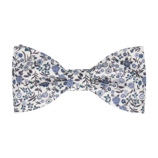 Diderot in Navy Blue Bow Tie -Standard-Pre-Tie- - bowties by Mrs Bow Tie