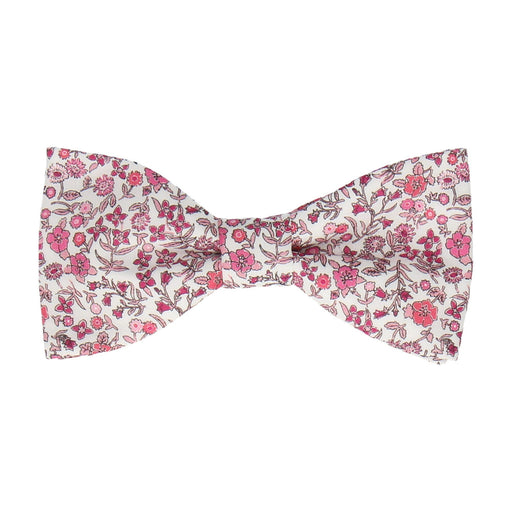 Diderot in Pink Bow Tie -Standard-Pre-Tie- - bowties by Mrs Bow Tie