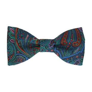 Multicolour Paisley Leibnitz Liberty Cotton Bow Tie