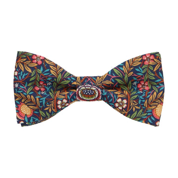 Colourful Floral Pincher Liberty Cotton Bow Tie