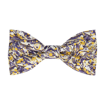 Saffron & Violet Liberty Cotton Bow Tie