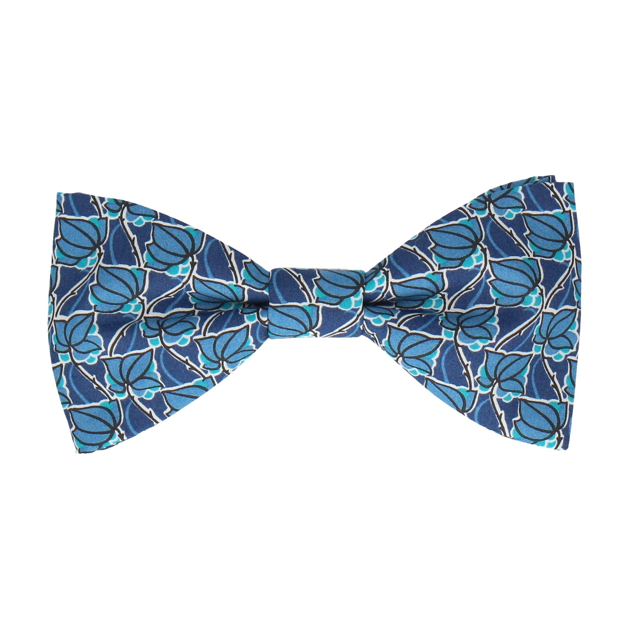 Mosaic in Blue Bow Tie
