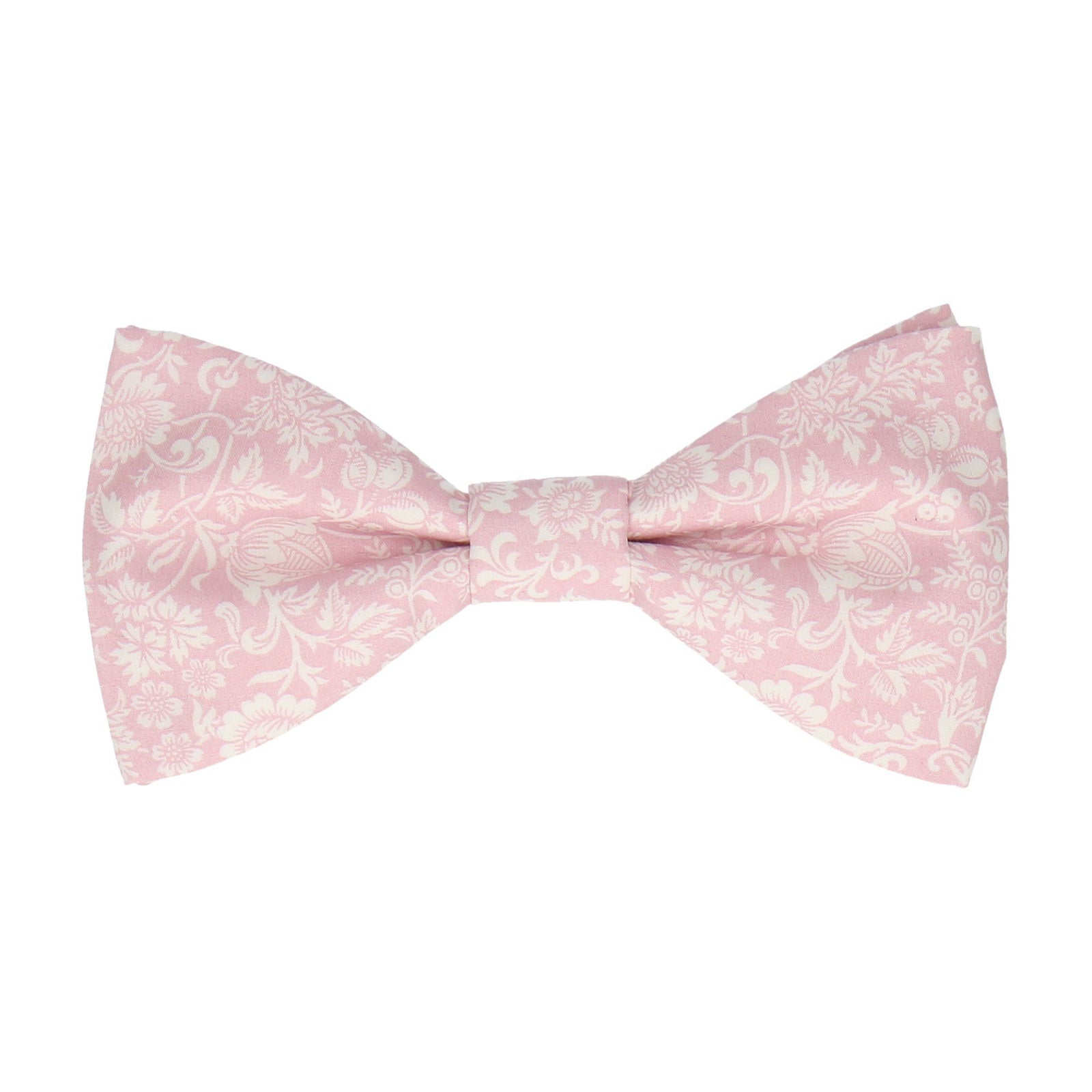 Soft Pink Kelmscott Liberty Cotton Bow Tie