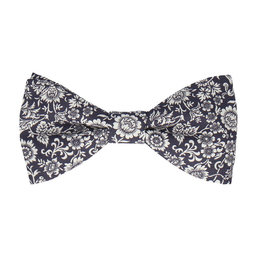 Kelmscott in Midnight Purple Bow Tie